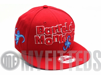Barrel Of Monkeys Red Blue Hasbro Board Game New Era Snapback