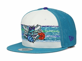 Charlotte Hornets Hardwood Classics Nights Rd. 4 1988-97 Road Uniform New Era Snapback