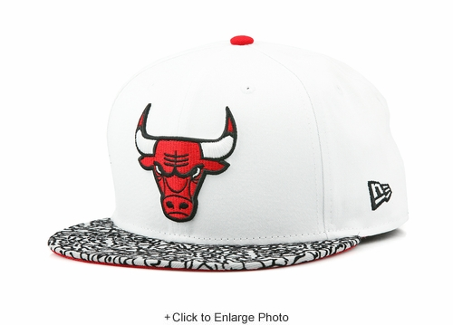 "Chicago Bulls Air Jordan III ""Free Throw Line / JTH"" Matching New Era Fitted Cap"