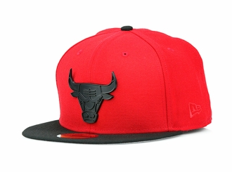 "Chicago Bulls Air Jordan V ""Flight Suit"" Air Jordan XVIII ""Red Suede"" Metal Badge New Era Hat"