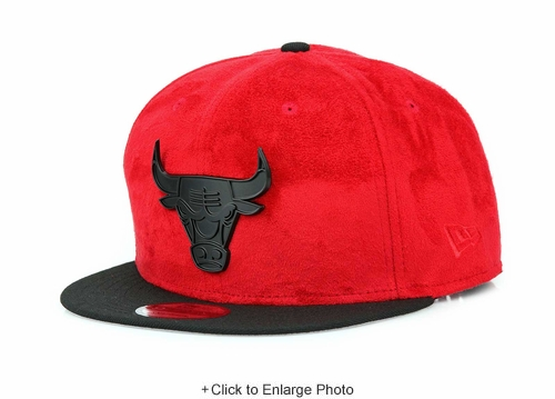 "Chicago Bulls Air Jordan V ""Flight Suit"" Air Jordan XVIII ""Red Suede"" Metal Badge New Era Snapback"