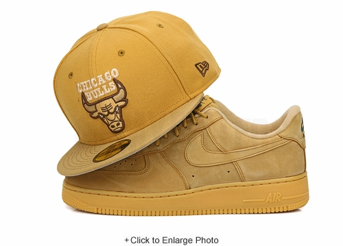 "Chicago Bulls Birch Veneer Wheat Toast Air Jordan XIII ""Golden Harvest"" New Era Hat"