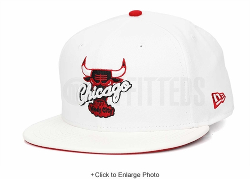"Chicago Bulls Glacial White & Faux Pebbled Scarlet Air Jordan XIII ""History of Flight"" New Era Snapback"