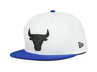 "Chicago Bulls Glacial White Forza Azure Air Jordan XIII ""Hyper Royal"" New Era Snapback"