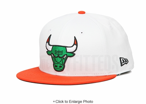"Chicago Bulls Glacial White Orangeade Air Jordan VI ""Gatorade / Like Mike"" New Era Hat"