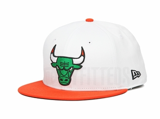 "Chicago Bulls Glacial White Orangeade Air Jordan VI ""Gatorade / Like Mike"" New Era Snapback"