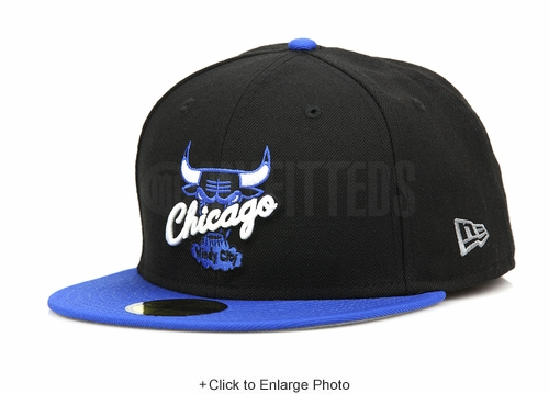 "Chicago Bulls Jet Black Forza Azure Air Jordan IV ""Motorsport Away"" Matching New Era Hat"