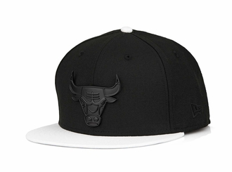 "Chicago Bulls Jet Black Metal Badge Air Jordan IX ""City of Angels"" New Era Snapback"