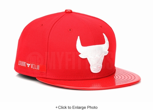 "Chicago Bulls Radiant Red Glacial White Air Jordan XI ""Win Like 96"" New Era Hat"