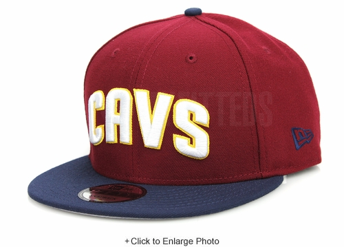 Cleveland Cavaliers CAVS Russet Sunset Midnight Navy Autumn Gold New Era Snapback Hat