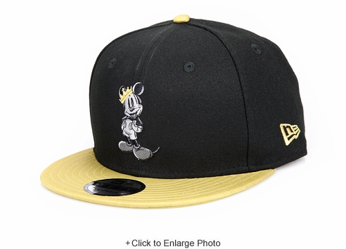 Disney Mickey Mouse King Mickey Mark Mixer Snap NBA New Era Snapback Hat