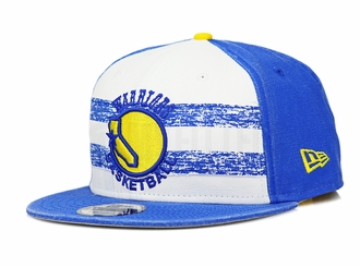 Golden State Warriors Hardwood Classics Nights Rd. 4 1948-52 Home Uniform New Era Snapback