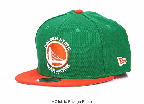 Golden State Warriors Lucky Green Orangeade Air Jordan VI Gatorade / Like Mike New Era Snapback