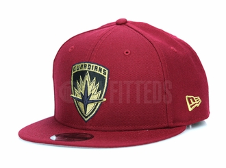 Guardians of the Galaxy 2 Guardians Shield Russet Sunset Gold Metallic New Era Snapback