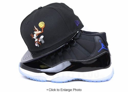 "Looney Tunes Wile E. Coyote Tunesquad Air Jordan XI ""Space Jam"" OG New Era Hat"