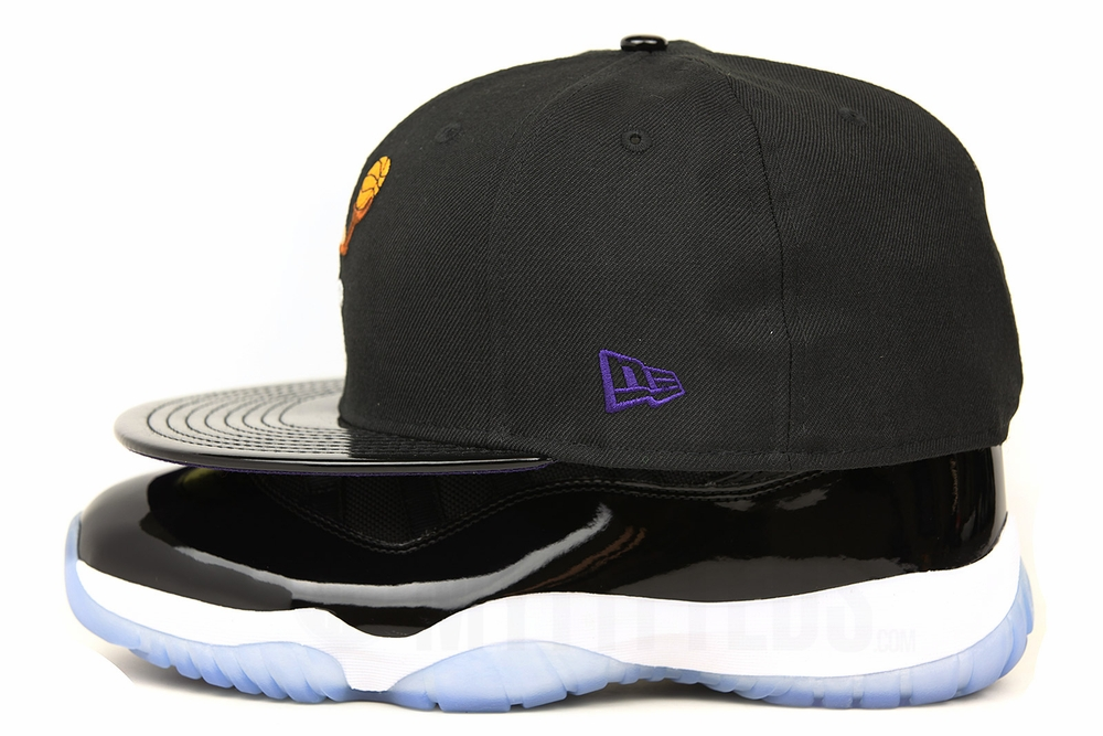8d34438723059 looney tunes bugs bunny tunesquad air jordan xi space jam og matching new  era