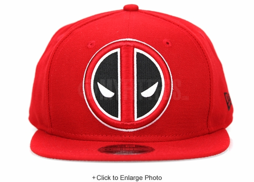 Marvel Deadpool Logo Grand Scarlet Official Original Fit New Era Snapback Hat