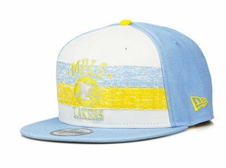 Minneapolis Lakers Hardwood Classics Nights Rd. 4 1948-52 Road Uniform New Era Snapback