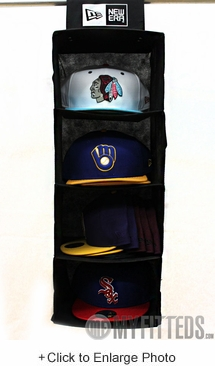 NEW ERA Authentic Cap Storage System in Black