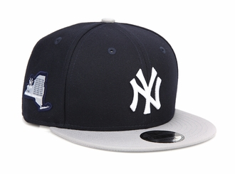 New York Yankees Side Stated 27X World Series Champions New Era Snapback
