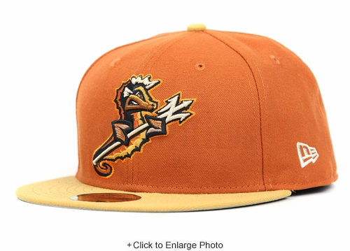 Norfolk Tides Rusted Metal Birch Veneer Jet Black Sandstone Bronze Custom New Era Fitted Cap