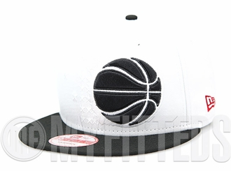 Orlando Magic Glacial White Jet Black Air Foamposite Pro Make Up Class of '97 New Era Snapback