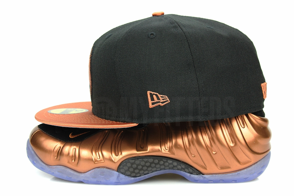 san francisco ff85e 91d06 Penny 1¢ One Cent Jet Black Metallic Copper Air Foamposite One .