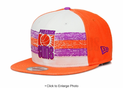 Phoenix Suns Hardwood Classics Nights Rd. 4 1968-73 Home Uniform New Era Snapback