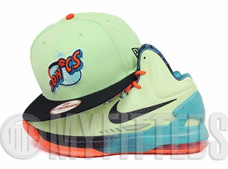 Seattle Supersonics Melon Green Midnight Navy All Star KD V Area 72 New Era Snapback