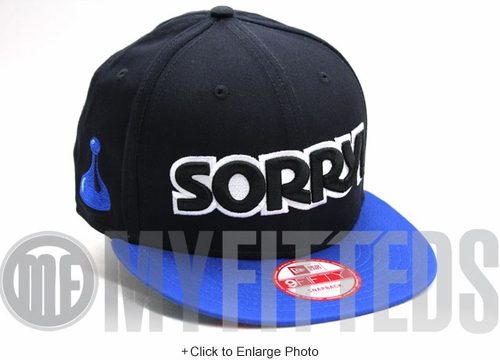 Sorry! Navy Blue Royal Blue Hasbro Board Game New Era Snapback