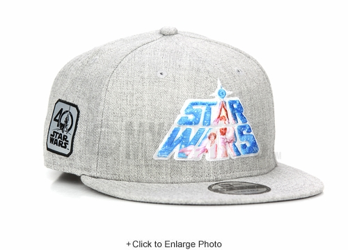 Star Wars 40th Anniversary Episode IV: A New Hope Sublimated Scroll New Era Snapback