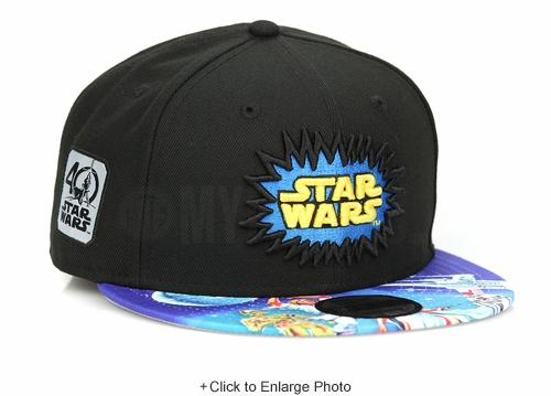 Star Wars 40th Anniversary Episode IV: A New Hope Sublimated Visor New Era Snapback