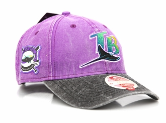Tampa Bay Devil Rays AL East Collection Heritage Series 9TWENTY New Era Strapback Dad Hat