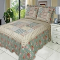 Annabel Oversized Coverlet Set Full/Queen Size 3PC