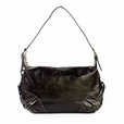 [Beauty Tamara] Stylish Coffee Leatherette Satchel Bag Handbag Purse
