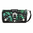 Blancho Bedding Womens [Branches] PU Leather Wristlet Wallet Zipper Purse Card Holder Green