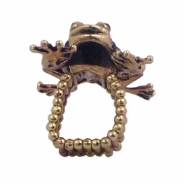 BLANCHO RING JEWELRY FROG JEWELLERY GREEN