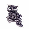 BLANCHO RING JEWELRY OWL JEWELLERY BLACK