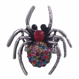 BLANCHO RING JEWELRY SPIDER BLACK HOUSE JEWELLERY MULTI