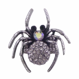 BLANCHO RING JEWELRY SPIDER BLACK HOUSE JEWELLERY SILVER