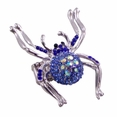 BLANCHO RING JEWELRY SPIDERS JEWELLERY LIGHT BLUE