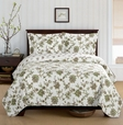 CARRIE OVERSIZE COVERLET SET Twin