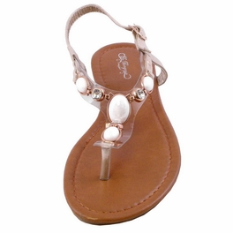 Centerpiece Flat Sandals GOLD