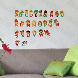 Cute Alphabet - Wall Decals Stickers Appliques Home D¨¦cor