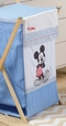 Disney Baby Blue Mickey Mouse Dance Crib Bedding Accesory - Hamper / Laundry Basket