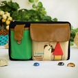 [Dreaming Cat] Embroidered Applique Kids Fanny Waist Pack / Travel Lumbar Pack (7.8*5.5*1.5)