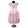 Girls Deluxe Pink Princess Quality Dress Up Costume