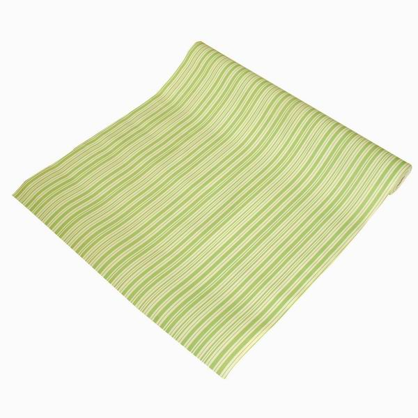 Green Stripe Self Adhesive Wallpaper Home Decor Roll