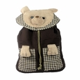 [Lazy Bear] 100% Cotton Fabric Art School Backpack / Outdoor Backpack