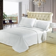 Luxury White Checkered Quilted Wrinkle Free Microfiber 2 Piece Coverlets Set Twin/Twin XL